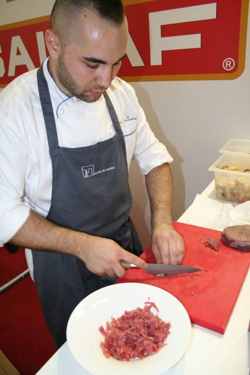 Aiuto chef di Domenico Cilenti