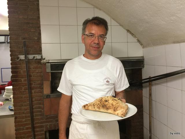 Antica Osteria Pizzeria Pepe Il calzone di scarola di mastro Stefano