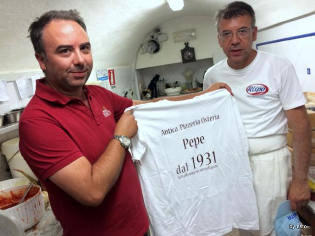 Antica Osteria Pizzeria Pepe Massimiliano e  Nino Pepe