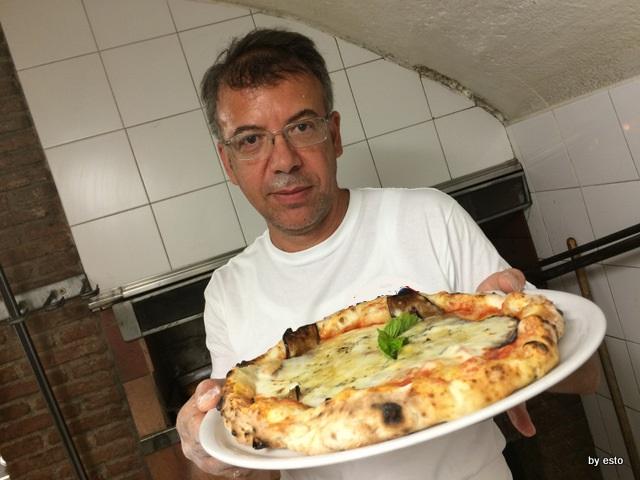 Antica Osteria Pizzeria  Pepe Nino Pepe la pizza parmigiana