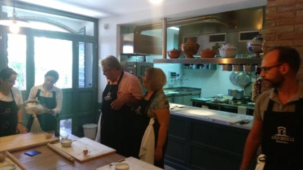 Antonelli, lezioni di cucina
