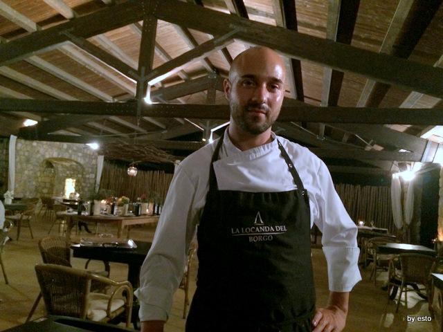 Aquapetra Lo chef Luciano Villani