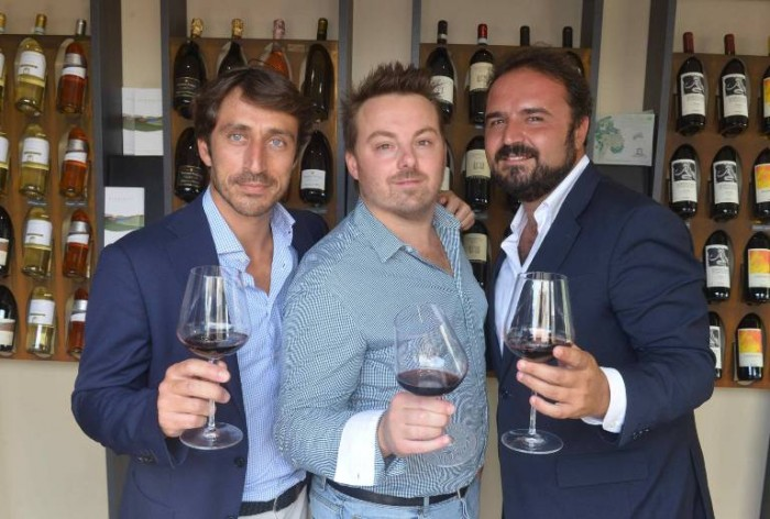 Bottiglie Aperte 2015, Andrea Romiti, Luca Gardini, Federico Gordini