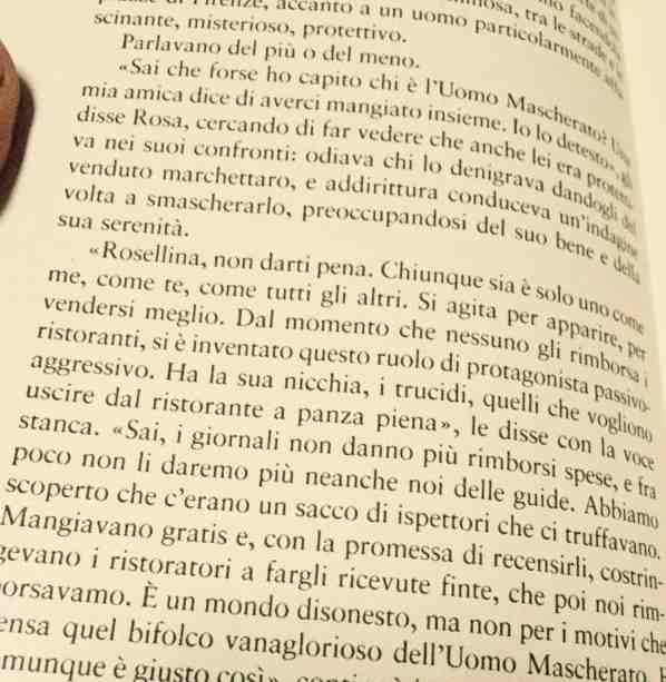 Camilla Baresani e l'Uomo Mascherato