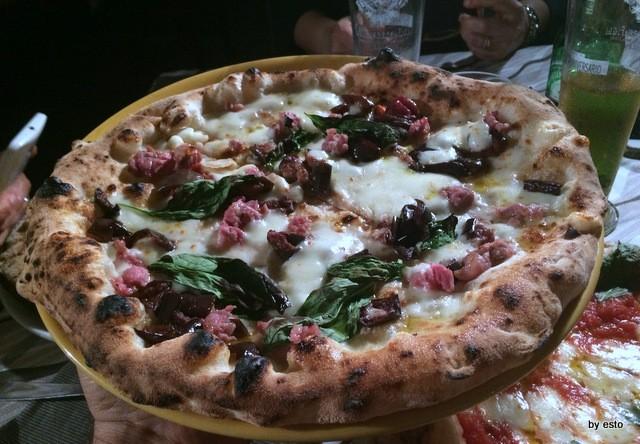 Casa Vitiello Francesco Vitiello Pizza  Melanzane e salsiccia
