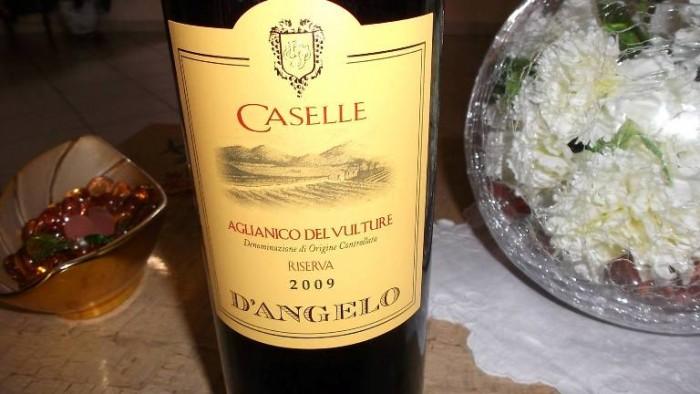 Caselle Aglianico del Vulture Doc Riserva D'Angelo