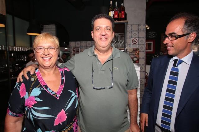 Con Lidia Bastianich e Antimo Caputo