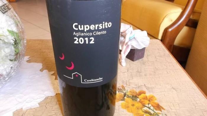 Cupersito Aglianico Cilento Dop 2012 Casebianche
