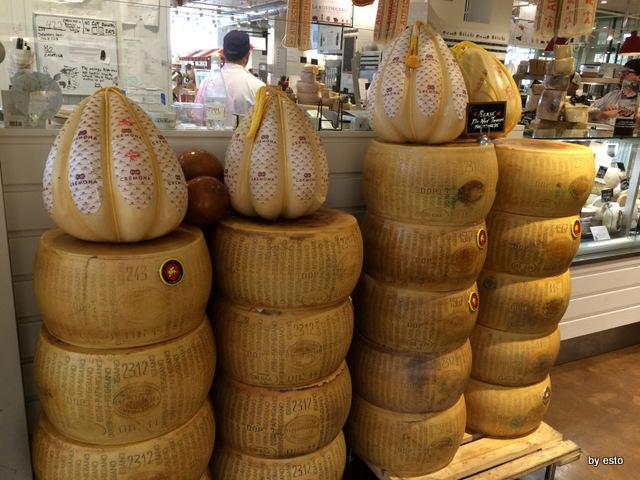 Eataly Chicago Provoloni e Parmigiano