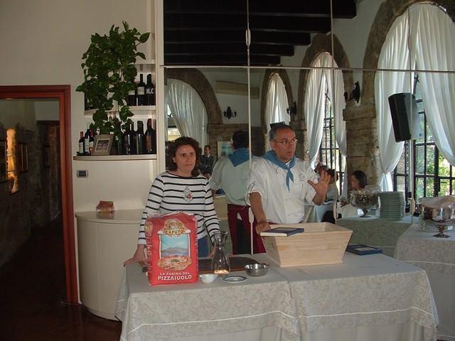 Maggio 2010: Enzo Coccia con Laura Gambacorta all'Hotel Nettuno