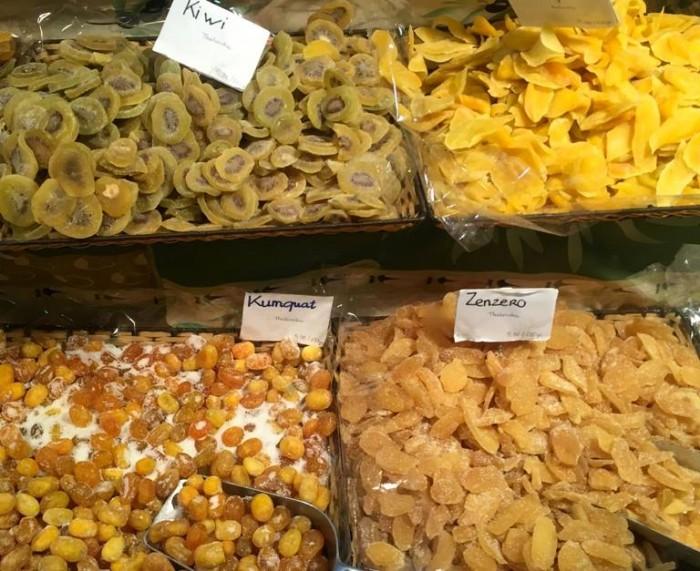 Festival dell'Oriente, frutta essiccata