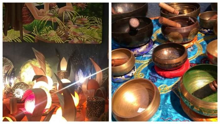 Festival dell'Oriente, lampade e oggettistica