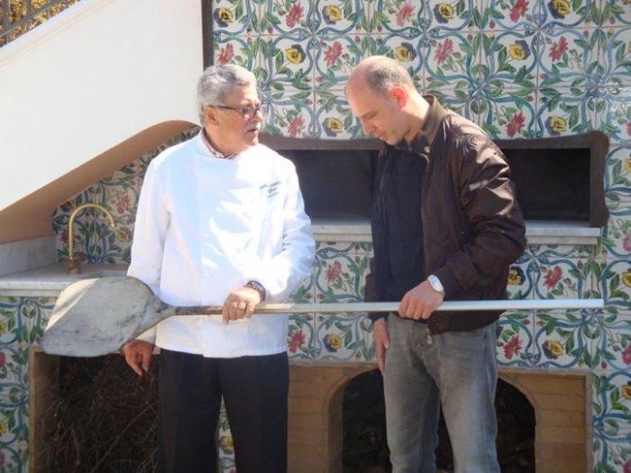 Giugno 2012: Don Alfonso riaccende il forno e Franco Pepe è il primo pizzaiolo a lavorare in un bistellato Michelin