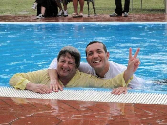 Gino Sorbillo con Marco Lungo