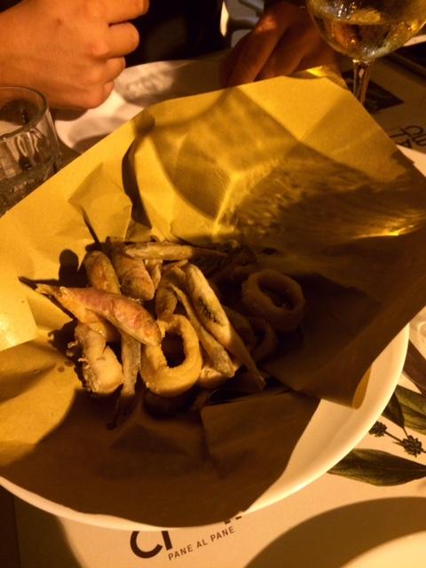 I Banchi, frittura