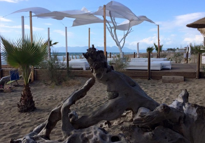 Il mare di Paestum dal Nettuno Beach