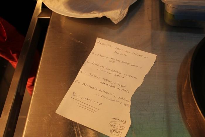 Indovina chi viene a cena, i piatti di Peppe Guida