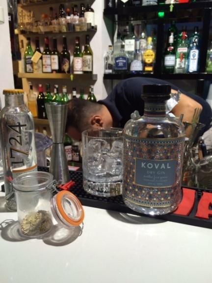 Koval Gin e Mario non ci mette la faccia :)