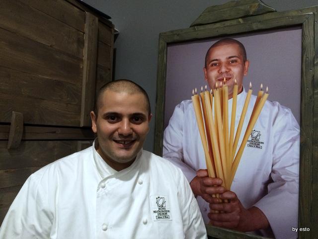 La Galleria. Giulio Coppola il cuoco