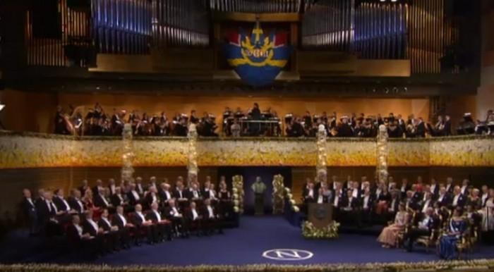 La Konserthuset di Stoccolma, sede della premiazione dei Nobel