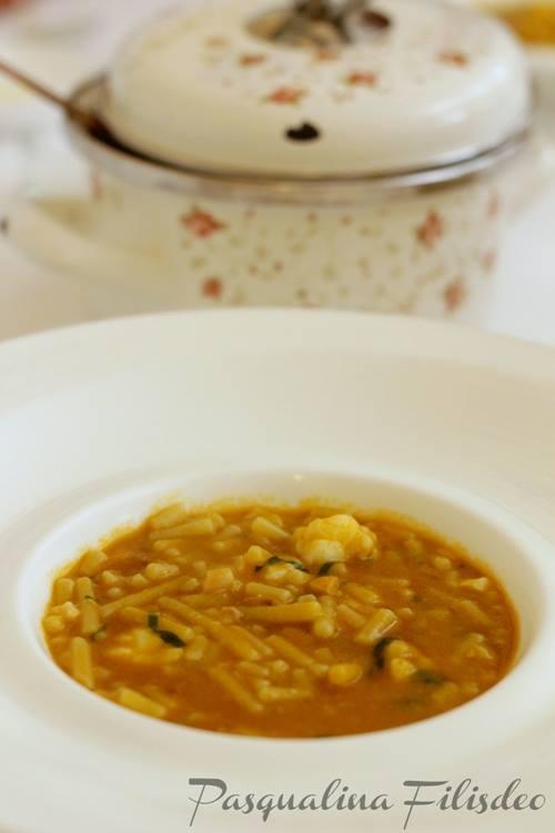 La Madia, minestra di crostacei alla trapanese