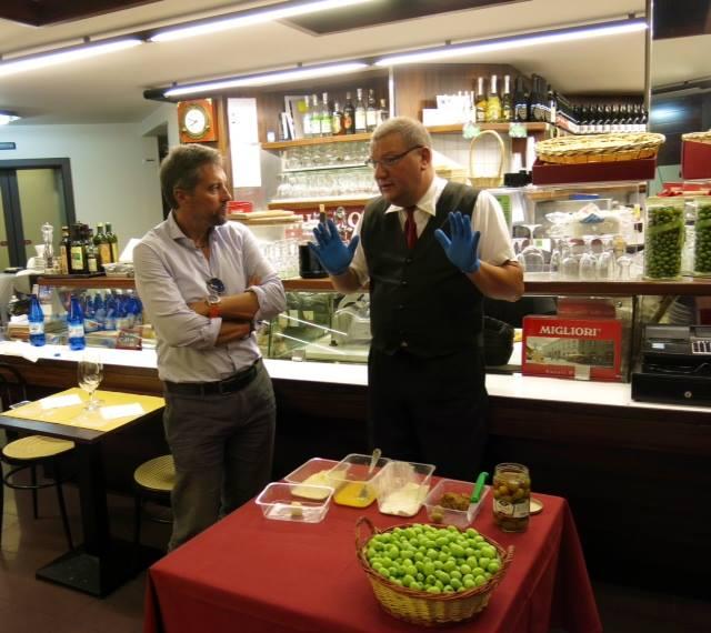 La produzione delle olive ascolane da Migliori