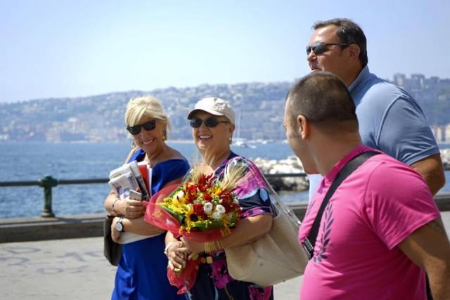 Lidia Bastianich a Napoli