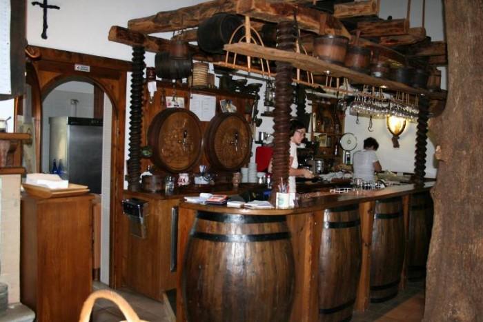 Lupinc, l'interno del ristorante