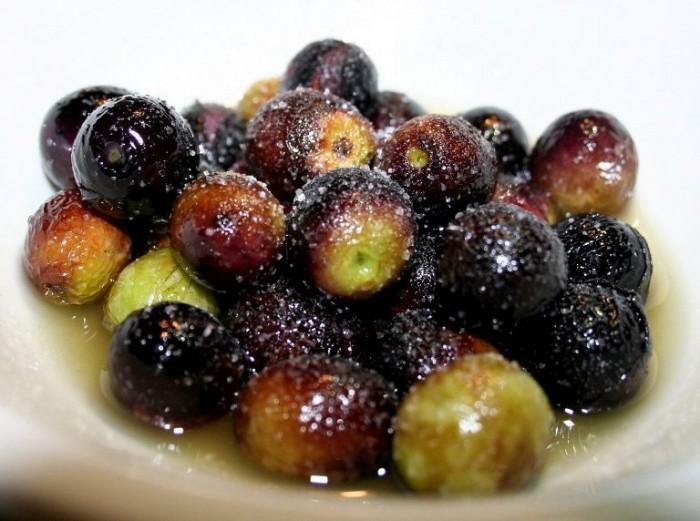 Olive Nolche soffritte in olio e sale