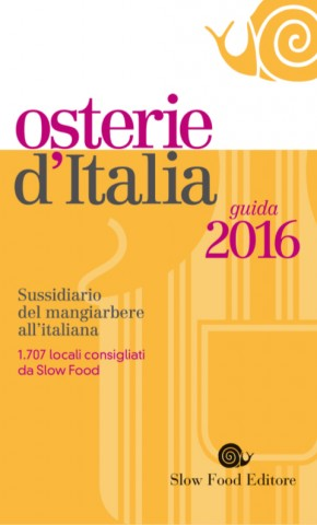 Osterie d'Italia Slow Food 2016