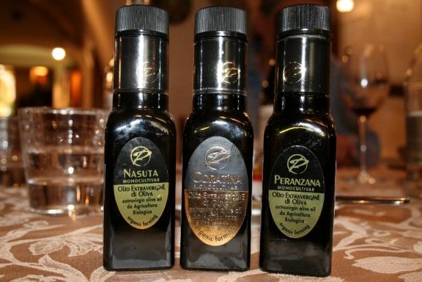 Paglione, gli oli extravergine monovarietali