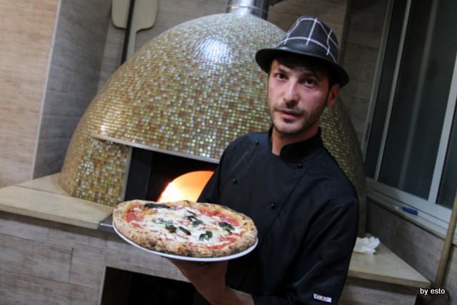 Paradise. Salvatore Lioniello la pizza Margherita