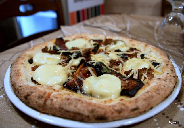 Paradise. Salvatore  Lioniello  la pizza Vegana