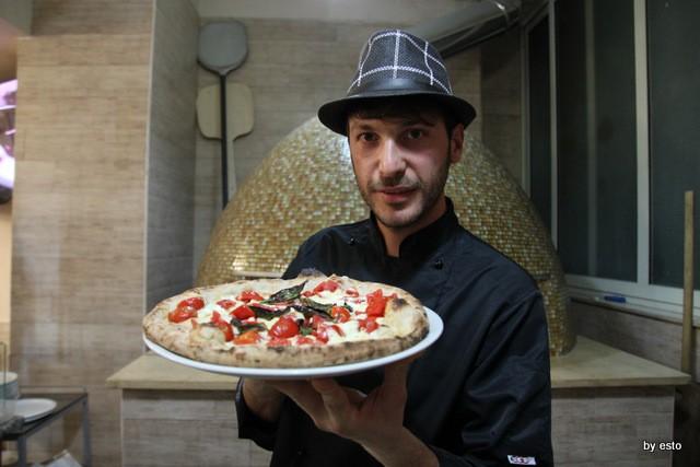Paradise. Salvatore Lioniello la pizza bufalina con impasto tipo 1