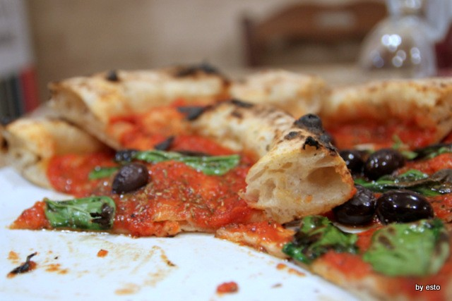 Paradise. Salvatore Lioniello la pizza marinara casertana la struttura