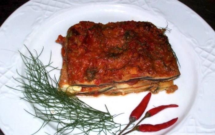 Parmigiana di melanzane, Irpinia version