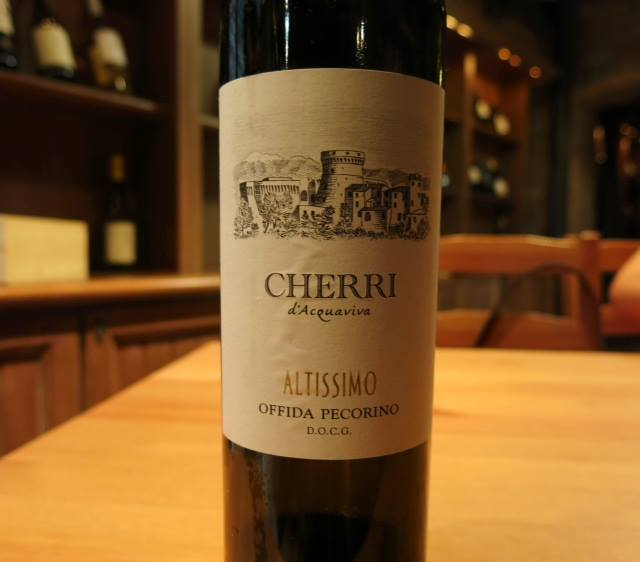 "Pecorino 2014  ""Altissimo"" Cherri D'Acquaviva"