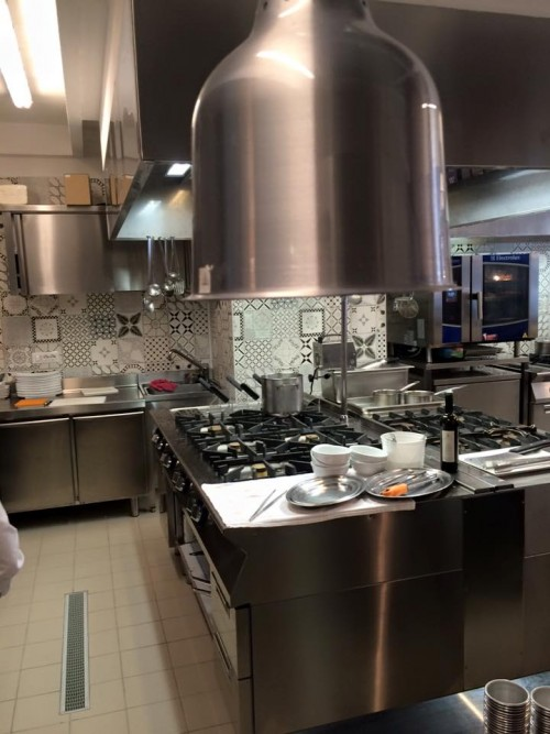 La nuova cucina di Piazzetta Milu