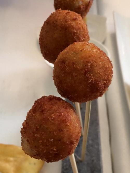 Piazzetta Milù. Polpo e patate fritto