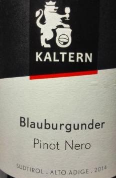 Pinot Nero di Caldaro