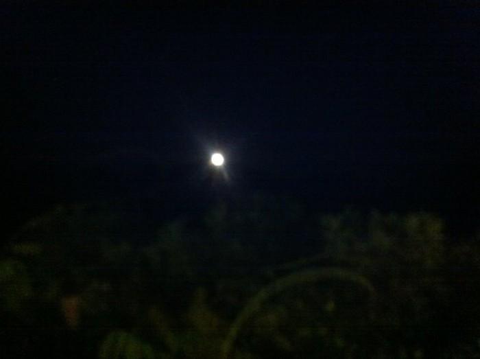 Pizzeria Belvedere, luna piena