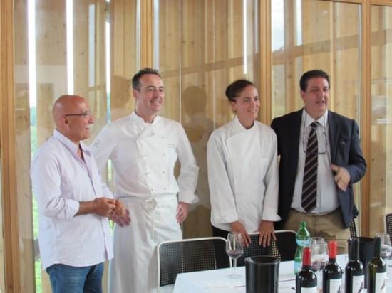 Sclavia, la presentazione degli chef Marziale e Martino
