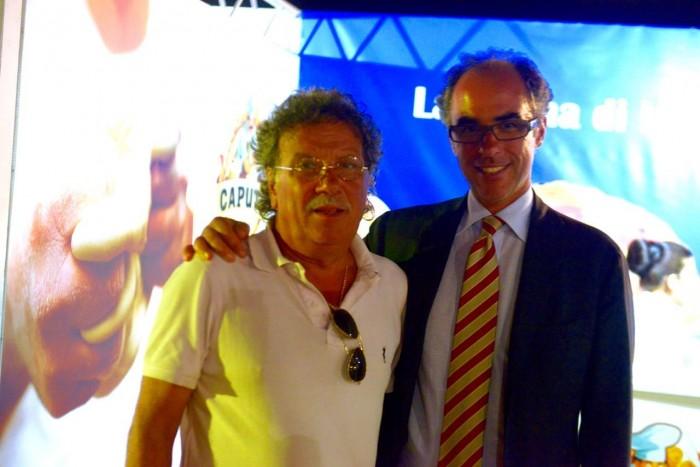 Sergio Miccu e Antimo Caputo (Foto Luigi Savino)