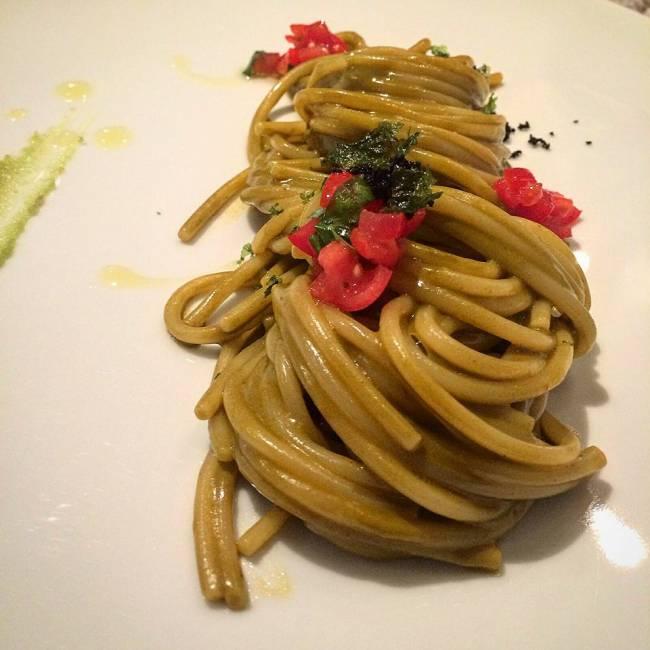 Gli spaghettoni (Foto Egidio Cerrone)