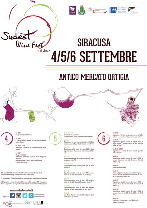 Sudest Wine Fest a Siracusa