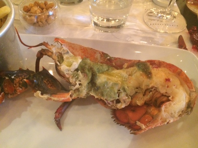TED Burger&Lobster, astice