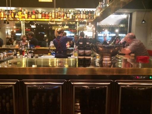 TED Burger&Lobster, bancone bar