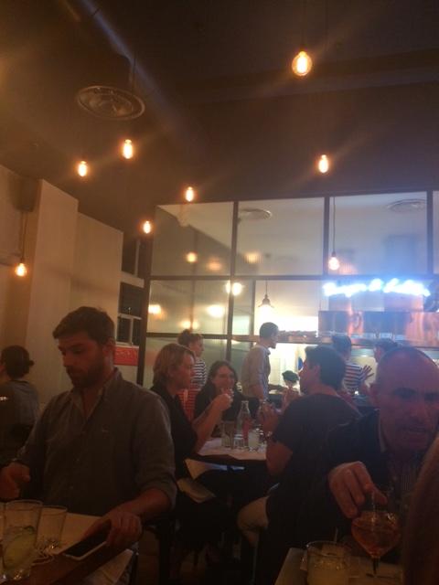 TED Burger&Lobster, l'interno