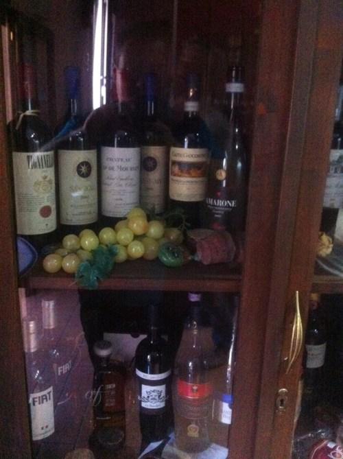 Vineria diVino, bottiglie importanti