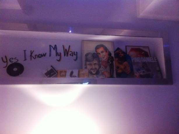 Yes I Know my Way, omaggio a Pino